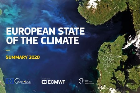European state of the climate poster