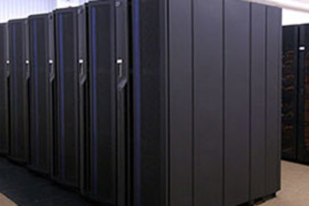 Part of our supercomputer installation